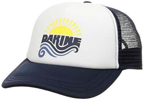 [ダカイン] [ユニセックス] メッシュキャップ (サイズ調整可能)[ AJ231-917 / SUN WAVE TRUCKR ] おしゃれ 帽子 IIK_ネイビー US F (FREE サイズ)