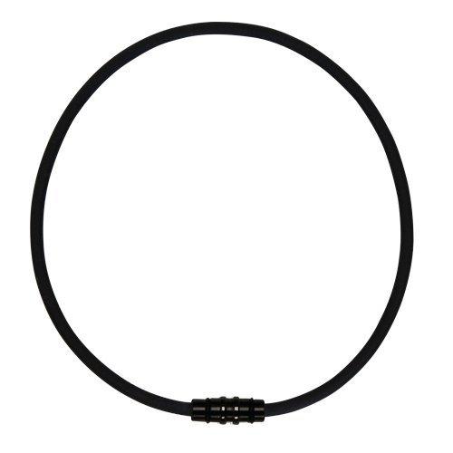 コラントッテ ネックレス クレスト (Sサイズ(43cm), ほぐしや限定ブラック×ブラック)