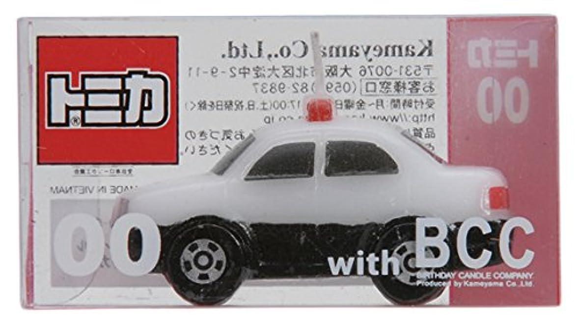 ルーフ葉巻サイクルトミカキャンドルパトロールカー 10個入り 56060000