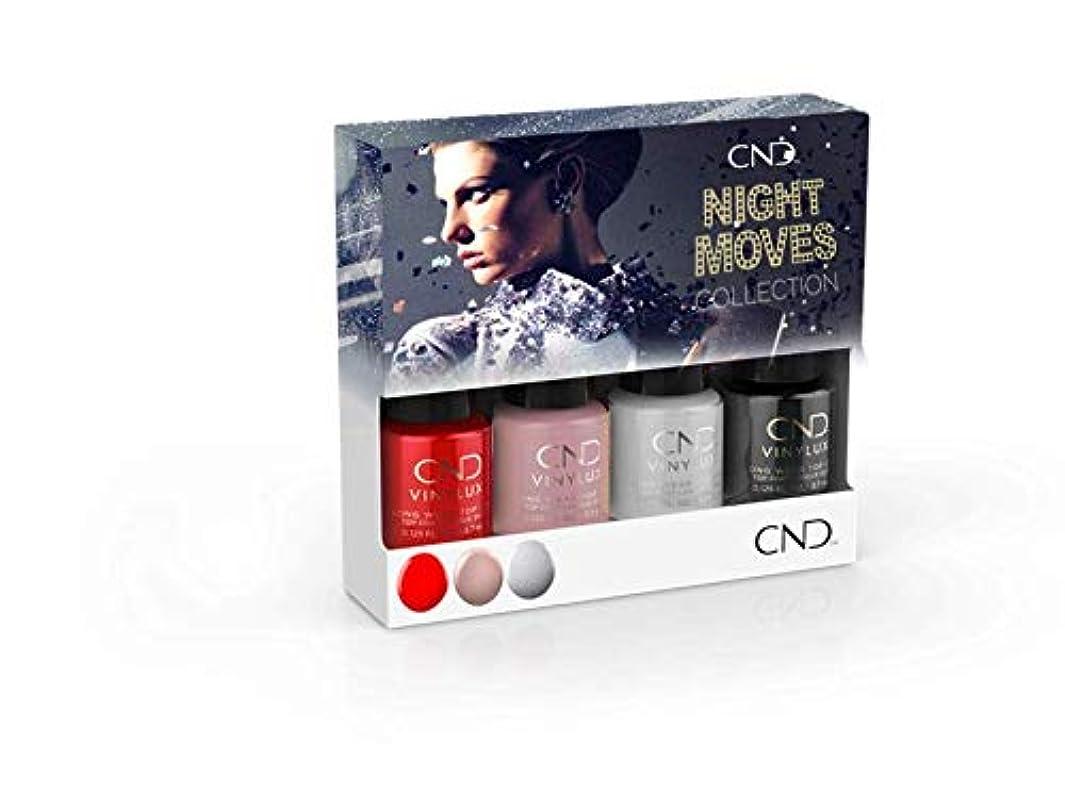 リダクター不健全繰り返したCND Vinylux - Night Moves The Collection - Mini 4pk - 3.7 mL / 0.125 oz