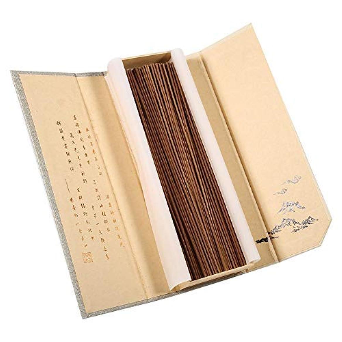 誤解を招く繰り返す習熟度Zerodis 180pcs/pack Natural Sandalwood Incense Buddhist Aroma Non-Toxic Incense Sticks for Household SPA Bathroom...