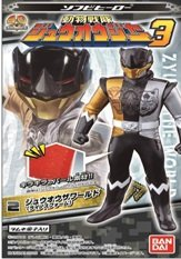 ソフビヒーロー 動物戦隊ジュウオウジャー3 10個入りBOX (食玩)