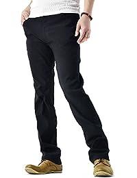 (フラグオンクルー) FLAG ON CREW ゆうパケット発送 超ストレッチ パンツ メンズ テーパードパンツ スーパーハイテンション生地 / B4O