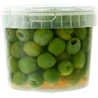 イタリア/ラロッカのグリーンオリーブ種無し【400g】