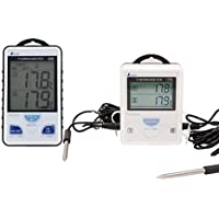 シンワ測定 ワイヤレス温度計 A 最高・最低 隔測式ツインブローブ防水型 73241
