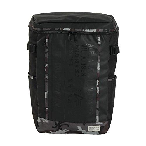 (アルファインダストリーズ)ALPHA INDUSTRIES 40057 カーボンコート ボックス型 リュックサック バッグ メンズ レディース バックパック F グレーカモ