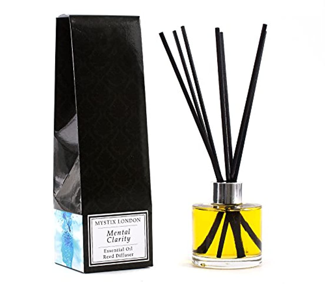 Mystix London   Mental Clarity - Essential Oil Reed Diffuser - 100ml