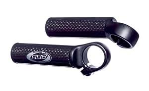 BBB バーエンド ファイバーストレート カーボン 95MM ブラック BBE-12