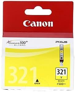 Canon 純正インクカートリッジ BCI-321 イエロー BCI-321Y