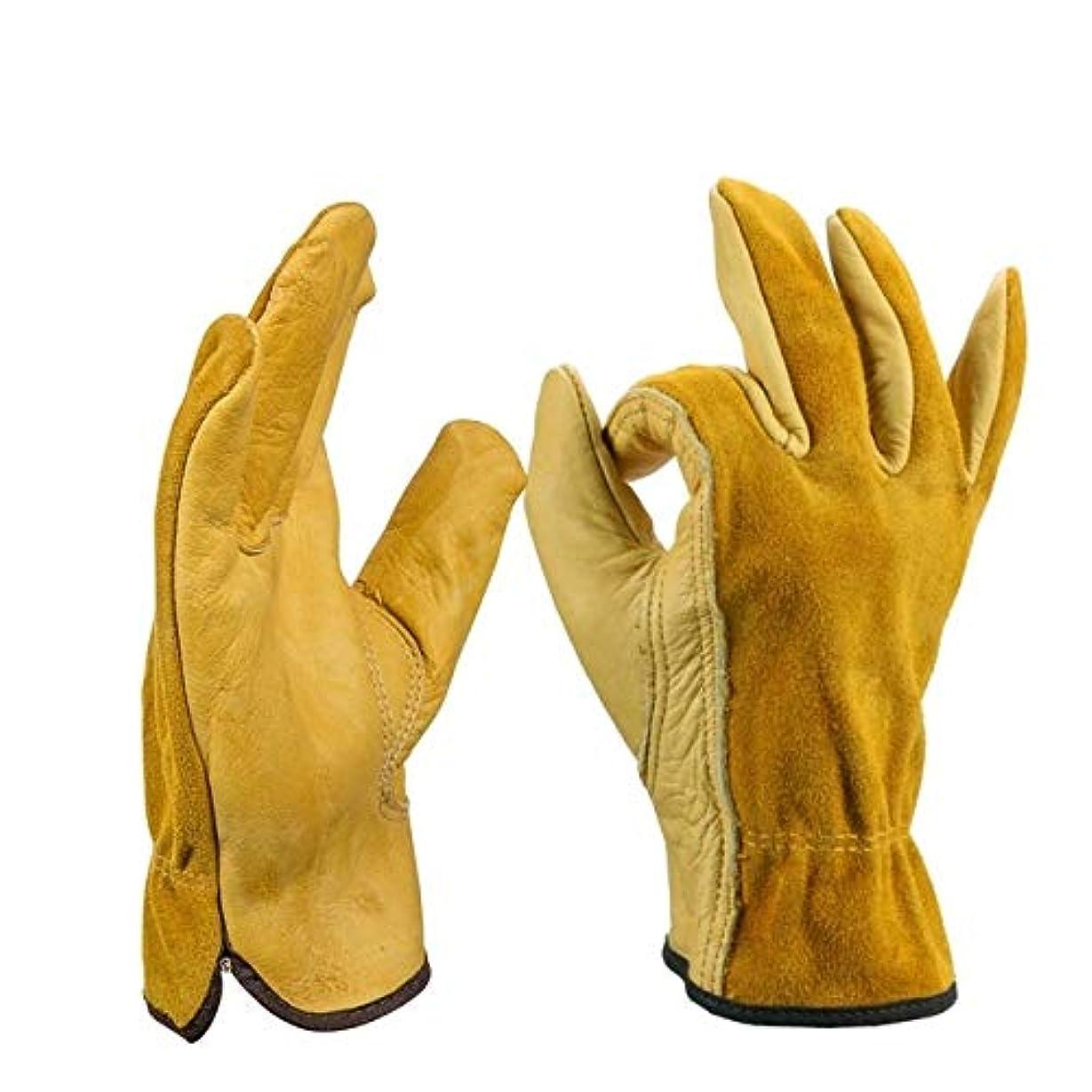 爆発物国際師匠WTYDスポーツ用品 2ペアオートバイグローブライディンググローブガーデン労働保護安全手袋 スポーツのために使用されます