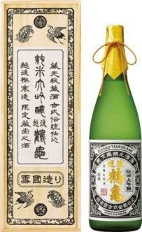 越後鶴亀 超特醸 純米大吟醸1.8l 桐箱入り