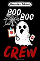 Composition Notebook: Halloween Boo Boo Doctor Crew Ghost Funny Costume Scary Gift  Journal/Notebook Blank Lined Ruled 6x9 100 Pages