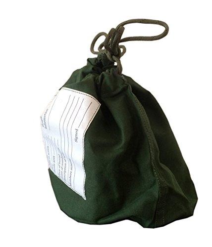(ノーブランド品)デッドストック personal effects bag パーソナルエフェクツバッグ フリーサイズ オリーブ