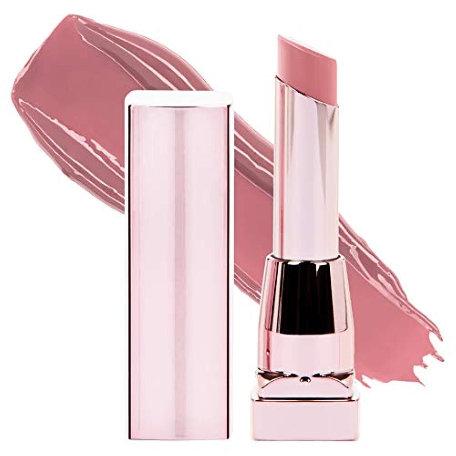 干渉する年齢ジョグMAYBELLINE Color Sensational Shine Compulsion Lipstick - Undressed Pink 075 (並行輸入品)
