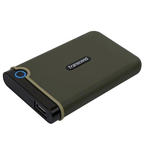 Transcend USB3.0/2.0 2.5インチ ポータブルHDD 耐衝撃 M3シリー