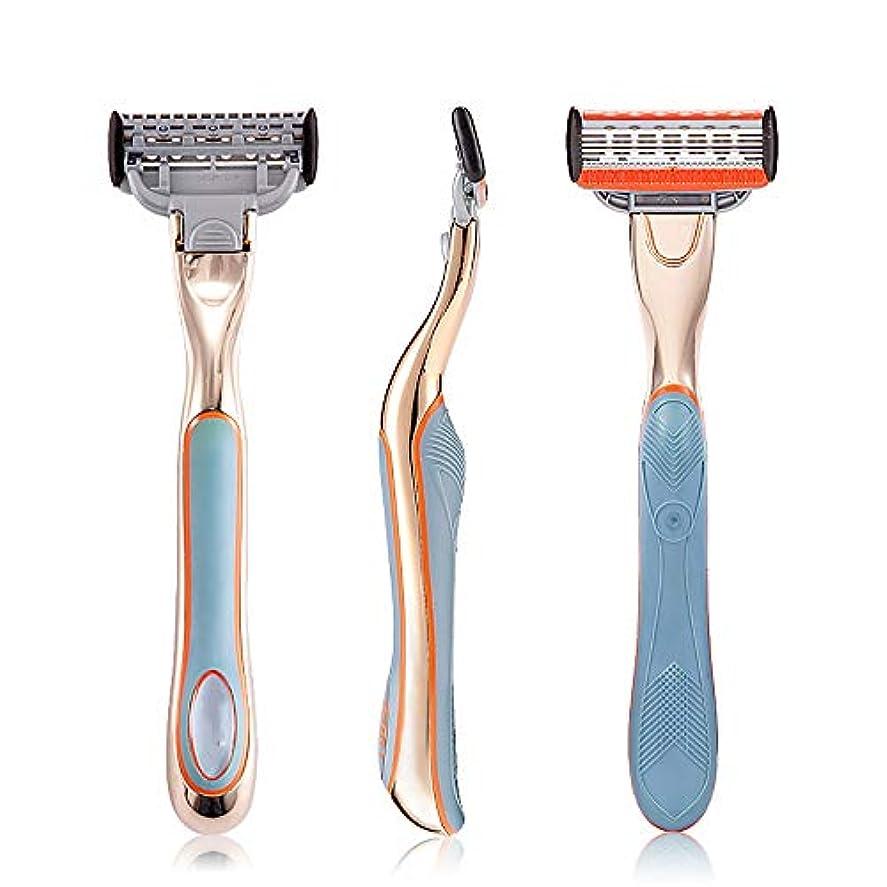 改善するコンプライアンス枯渇するストレートマニュアルかみそり、長いハンドルメンズ理髪師シェービング安全ブレードかみそりステンレスシェーバー,Blue