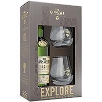 ザ・グレンリベット 12年 700ml グラス2個付き シングルモルトスコッチウイスキー ギフト箱入り スコットランド