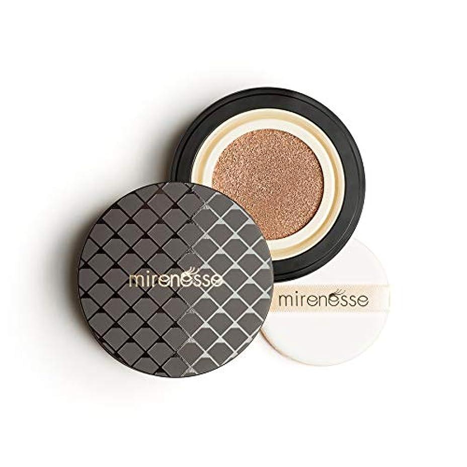 前述のプロテスタント激しいMirenesse Cosmetics 10 Collagen Cushion Foundation Compact Airbrush Liquid Powder SPF25 PA++ 15g/0.52oz - Shade...