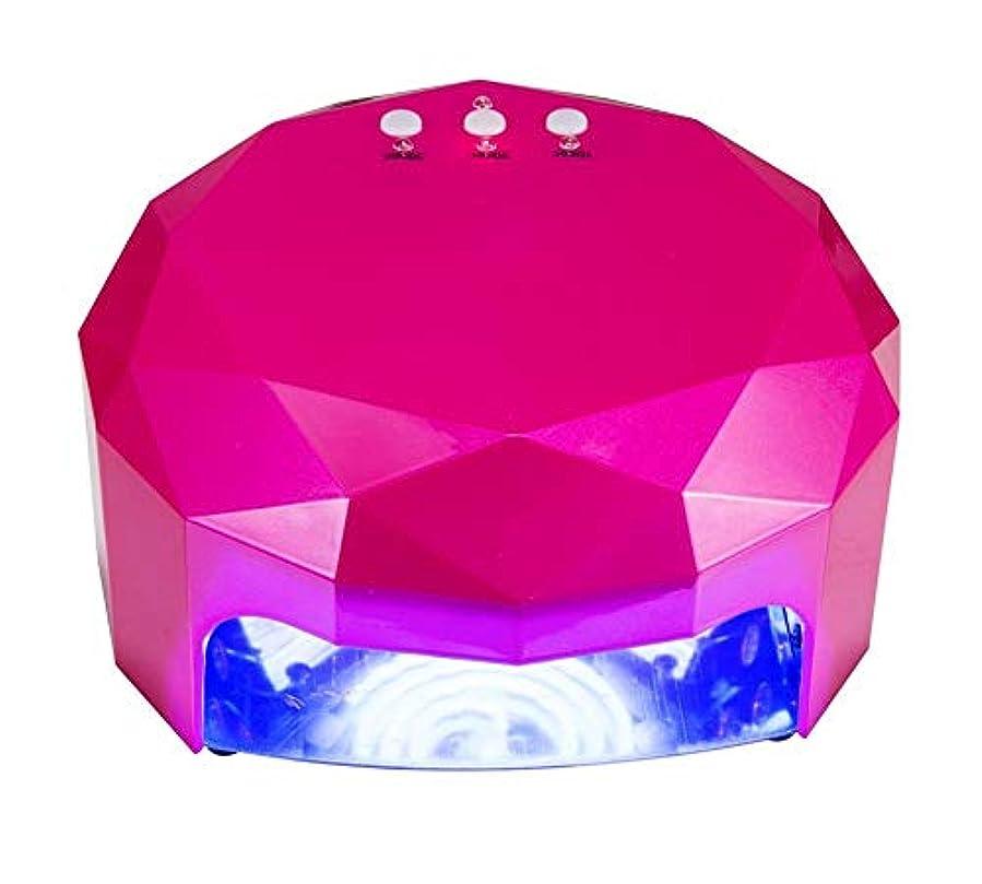 オーラルやりすぎランチ48ワットled紫外線ネイルランプネイルドライヤーライトマシン用硬化ゲルネイルポリッシュネイルアートマニキュアツールで10 s/20 s/30 sタイマー
