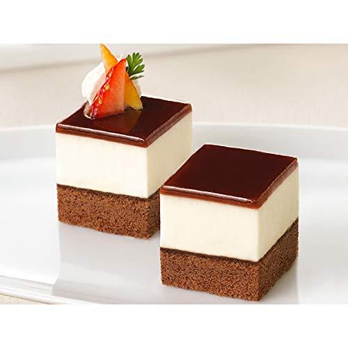 【業務用】フレック カット済みケーキ ティラミス(北海道産マスカルポーネチーズ使用) 49個