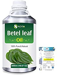 Betel Leaf (Piper Betle) 100% Natural Pure Essential Oil 5000ml/169fl.oz.