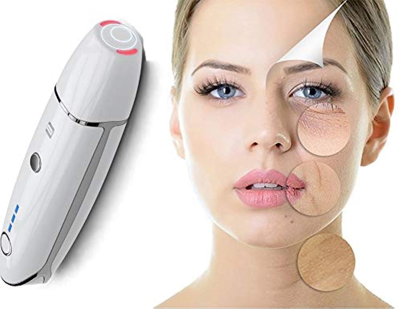 思春期のアルミニウム郵便番号スキンケア美容機器 - 肌を引き締める - しわを減らす - アンチエイジングフェイスマッサージ - 高周波ガルバニックフェイシャルマシン