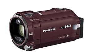 Panasonic HDビデオカメラ W870M ワイプ撮り 50倍ズーム ブラウン HC-W870M-T