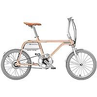 チノーバ(Tsinova) TS01 スマート 電動アシスト自転車 20インチ 【型式認定試験合格済 ベルトドライブ 5.8Ahリチウムイオンバッテリー搭載 Bluetooth スマートフォン連動】 AR-TN20TS
