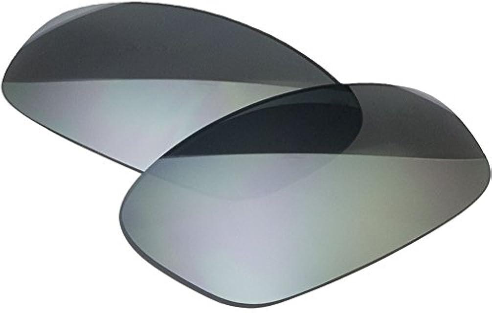ベーコン土地驚くべき自社製 オークリー SPLIT JACKET サングラス用交換レンズ