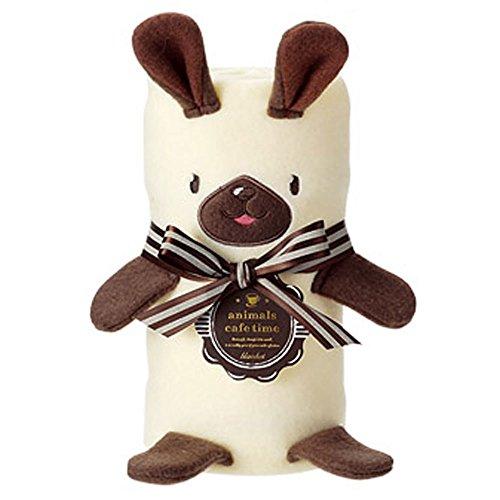 アニマルカフェタイム ラージブランケット(700×1100mm) (ウサギ)