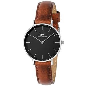 [ダニエル・ウェリントン]Daniel Wellington 腕時計 Classic Petite Black St Mawes ブラック文字盤 DW00100181 【並行輸入品】