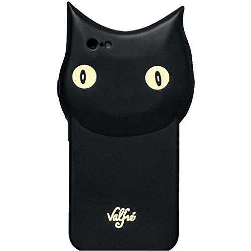 Valfre ロサンゼルス の 3D クロネコ さん iphone6ケース BRUNO 3D IPHONE 6 CASE シリコン 黒猫 キャット アイフォン ケース モバイル カバー apple6 海外 ブランド