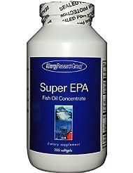 スーパー EPA + DHA 水銀除去済 得用 サプリメント 無添加 200粒 200~65日分x1本 [海外直送品]