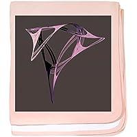 CafePress – 数学的アートワーク – -スーパーソフトベビー毛布、新生児おくるみ ピンク 07932132906832E