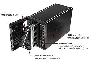 【Eコマース限定】NETGEAR ReadyNAS212 クアッドコアCPU+2GBメモリー搭載 2ベイNASキット リンクアグリゲーション2倍速対応【3年保証】RN21200-100AJS
