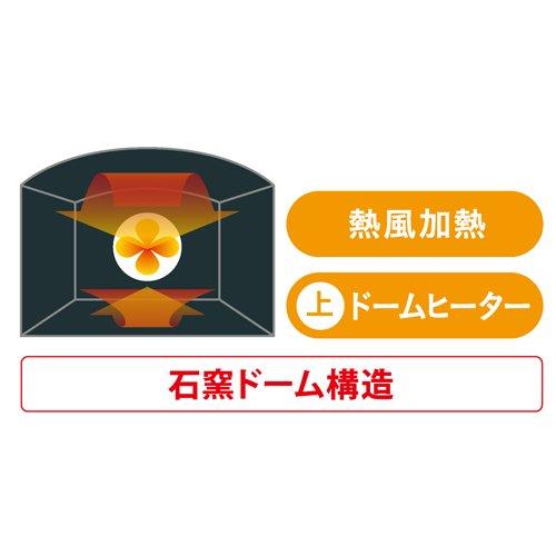東芝 スチームオーブンレンジ 石窯ドーム グランレッド ER-LD330(R)