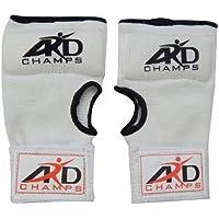 ARDフォームパッド入りインナー手袋withラップタイ式ボクシング格闘技白S - XL