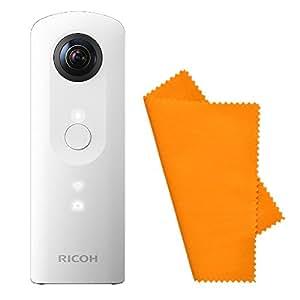 【セット】RICOH デジタルカメラ RICOH THETA SC (ホワイト) 360°全天球カメラ