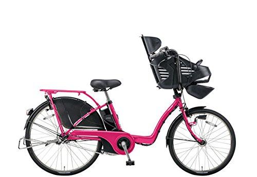 Panasonic(パナソニック) 2015年モデル ギュット・DX カラー:ハッピーピンク 26インチ BE-ELMD63-M 子供乗せ付き電動アシスト自転車 専用充電器付