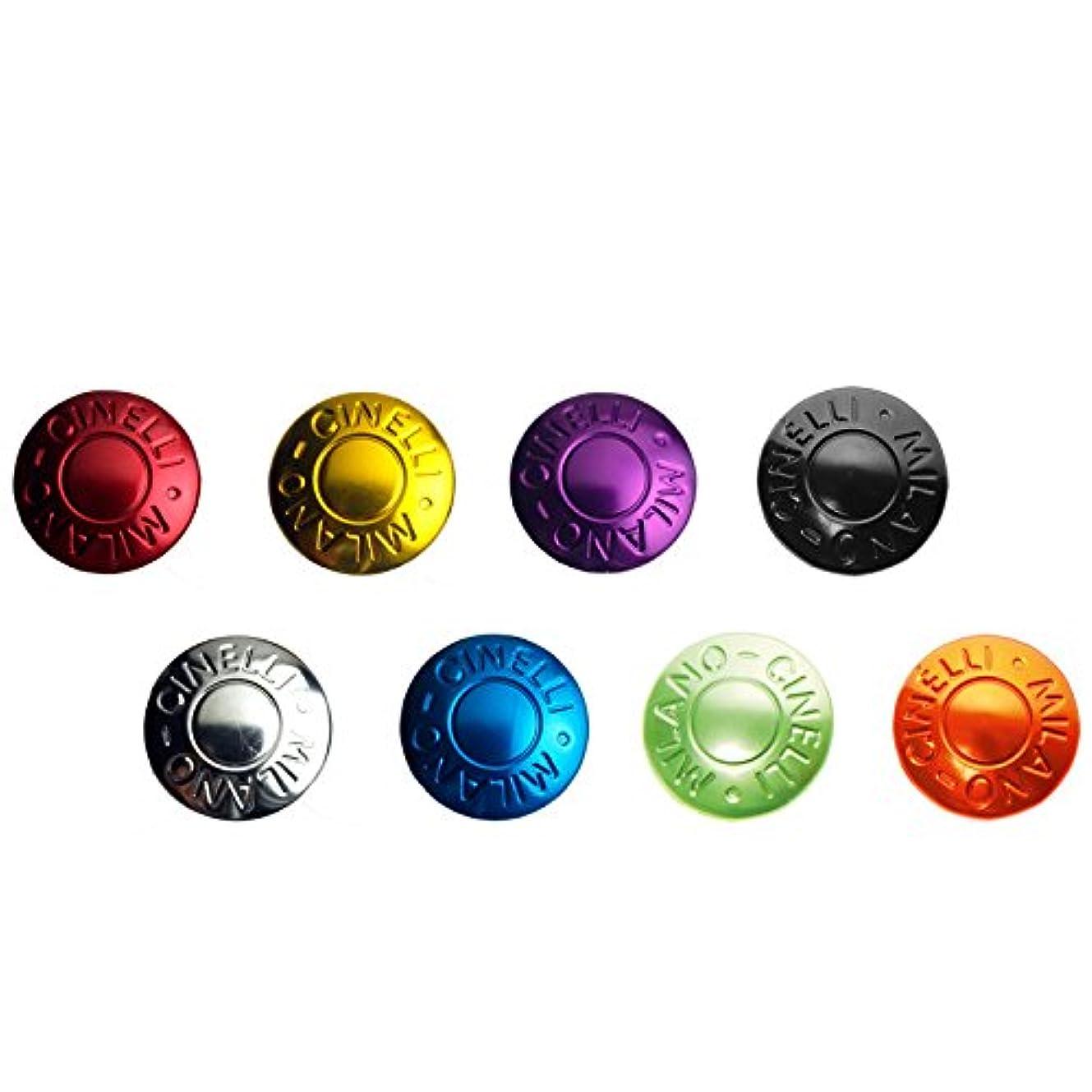 曲がった改革欠席Cinelli - Anodized Plugs - Silver