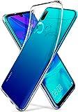 【Spigen】HUAWEI nova lite 3 ケース/P smart 2019 ケース/Honor 10 Lite ケース 対応 TPU 全面 クリア 超薄型 超軽量 にじみ防止 リキッド・クリスタル L40CS25950 (クリスタル・クリア)