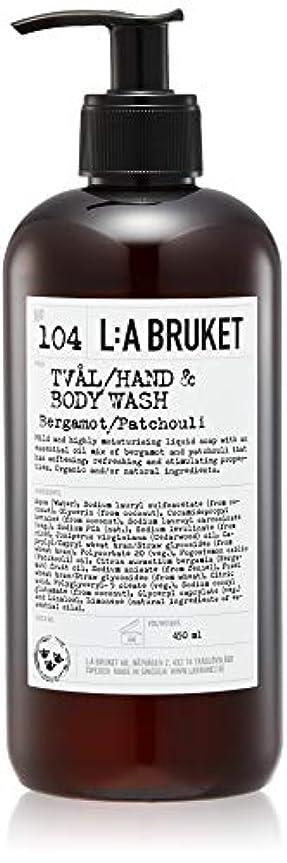 緯度蒸発する漏斗L:a Bruket (ラ ブルケット) ハンド&ボディウォッシュ (ベルガモット?パチョリ) 450g