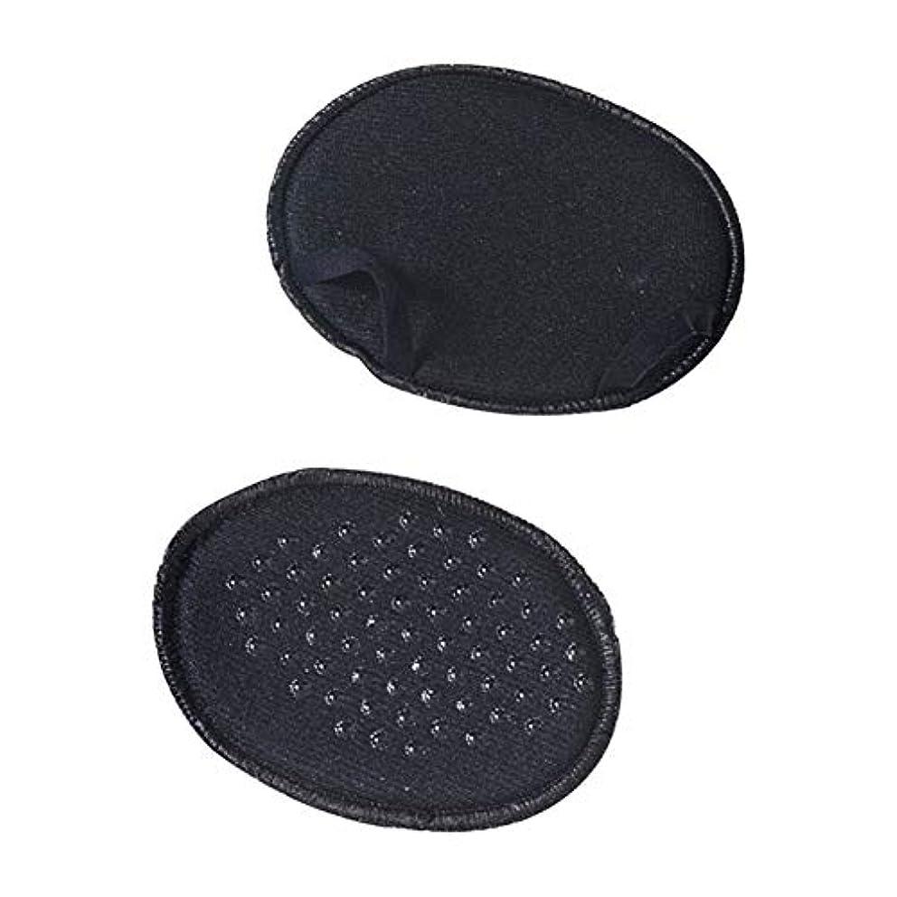 レシピ有毒タイプライターYudesunyds 足 クッション パッド - 10組入りパック 前足インソール 目に見えない 滑りにくい ハーフヤードパッド レース 装具インソール