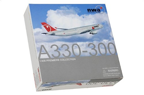 1:400 ドラゴンモデルズ 55811 エアバス A330 ダイキャスト モデル ノースウェスト 航空 N804NW【並行輸入品】