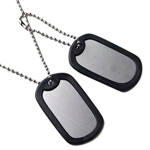 US.ドッグタグセット(MG101A)名前打ち込みなし、階級章ワッペン付