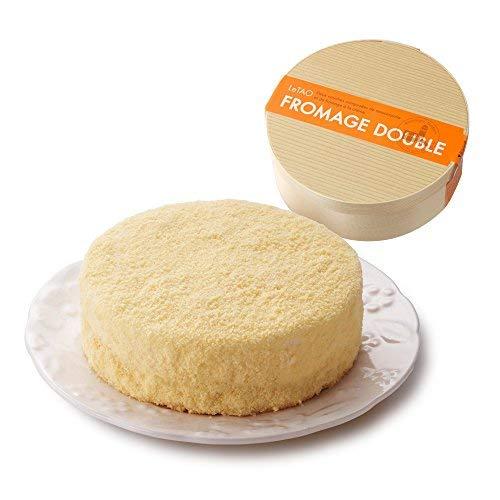 ルタオ (LeTAO) チーズケーキ ドゥーブルフロマージュ ホール 4号(2~3人分) 母の日 贈答品 お菓子
