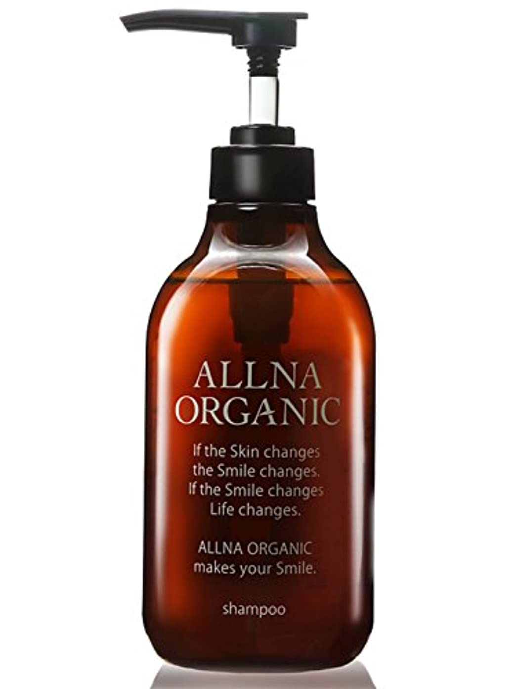 頂点単調なくオルナ オーガニック シャンプー 無添加 ノンシリコン 天然由来 無香料でボタニカルな香り「コラーゲン ヒアルロン酸 ビタミンC誘導体 セラミド 配合」500ml (シャンプー ポンプ) (スムース)