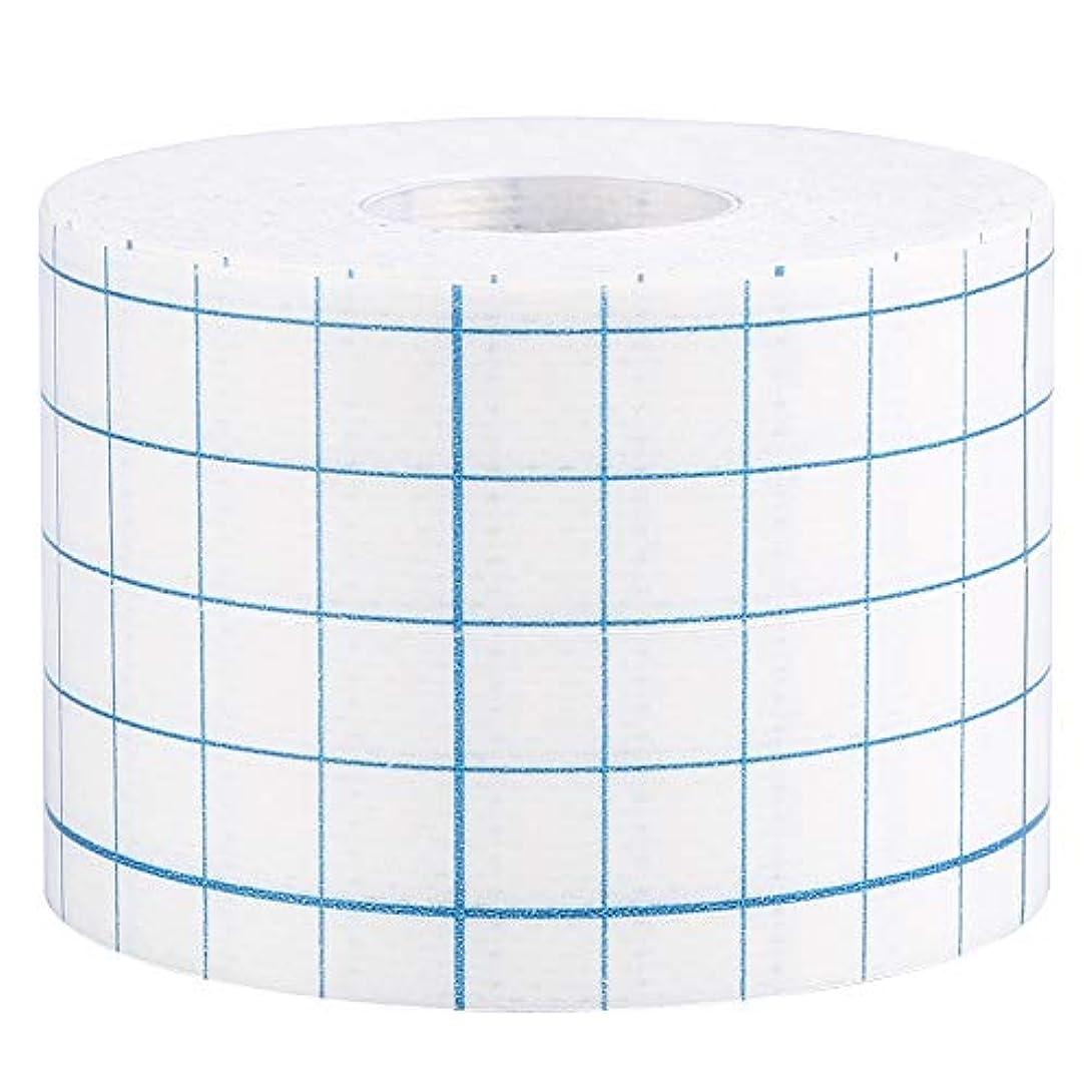ページラケット種類3サイズ1ロールプロフェッショナル不織布接着創傷ドレッシング医療用固定テープ包帯(5cm x 10m)