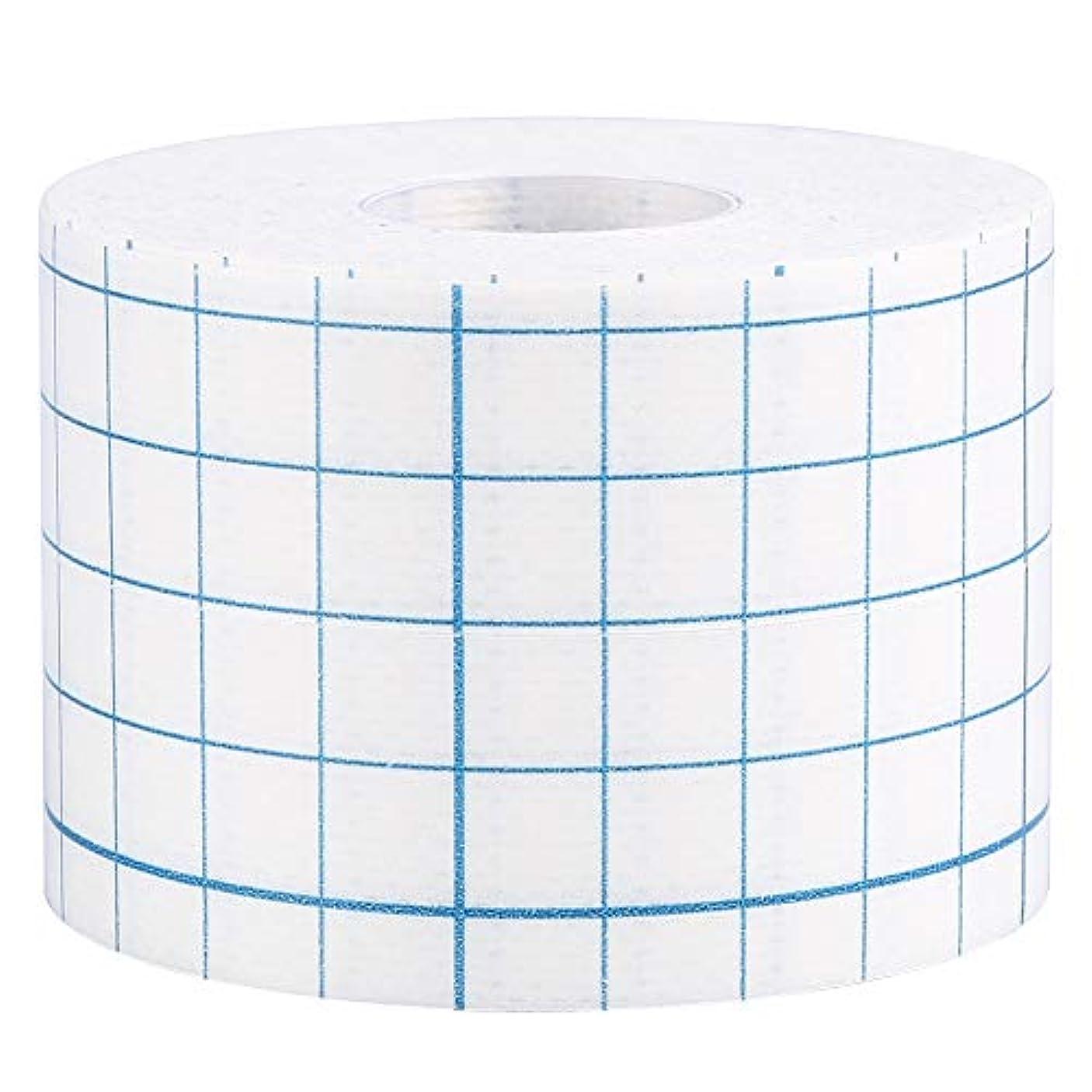 3サイズ1ロールプロフェッショナル不織布接着創傷ドレッシング医療用固定テープ包帯(5cm x 10m)