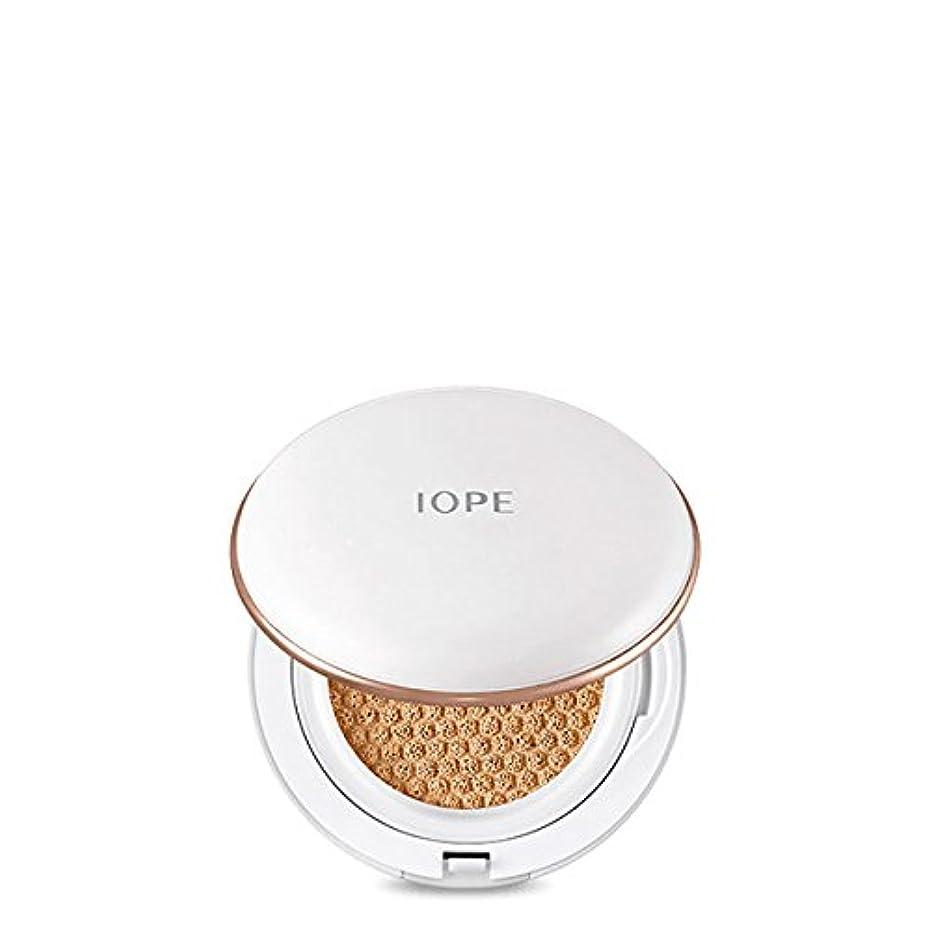 鋭くホームレス性格IOPE アイオペ エア クッション インテンス カバー 21号 バニラ SPF50+/PA+++ 30g